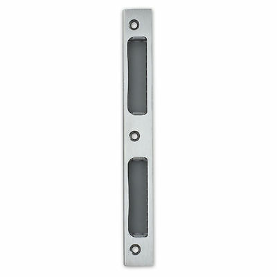 Stainless Steel Strike Locking Door Plate Angled DIN R/L - WC/Bathroom ZB8