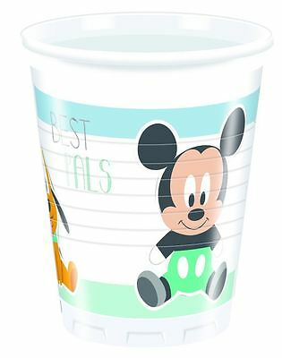Disney Infant Mickey Mouse Cups Party Tableware Supplies Birthday Baby Shower