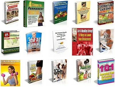 80 Fitness, Diet, Beauty and Health Pdf Ebooks With Master Resell Rights Books