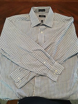 Mens Izod Long Sleeve Dress Shirt - size 16 (32/33) - FREE SHIP!
