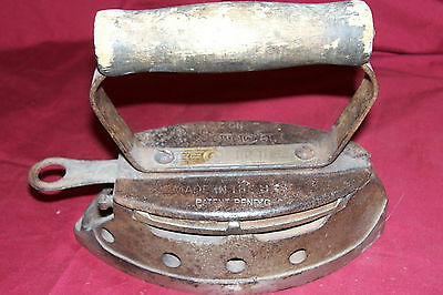 Antique Coleman Model No. 2 Iron Old Vintage Collectible Collector not a Lantern