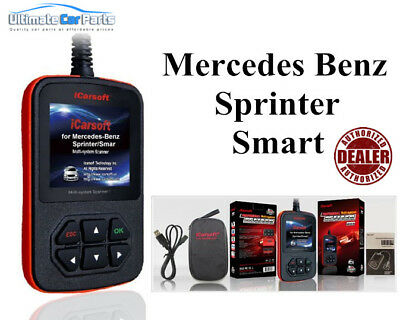 Sprinter Icarsoft I980 Airbag Srs Fault Diagnostic Scan Tool & Reset Code Reader