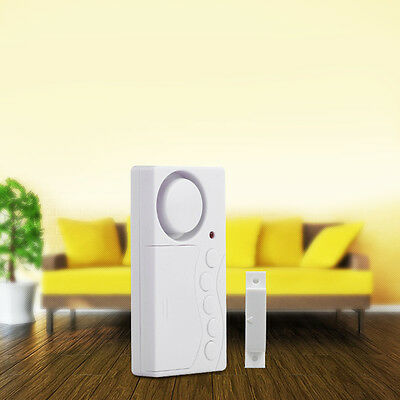 New Wireless Door Window Password Security Sensor Alarm Alert System Home 105db
