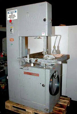 "Powermatic Model 81 20"" Wood Cutting Vertical Band Saw (Inv.14811)"
