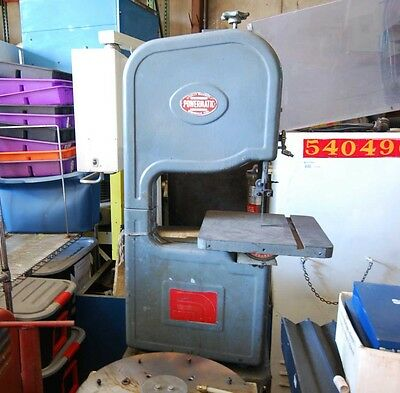 Powermatic Model 143 Combination Vertical Band  Saw (Inv.29362)