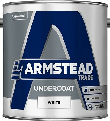 Armstead Trade Undercoat 2.5L White
