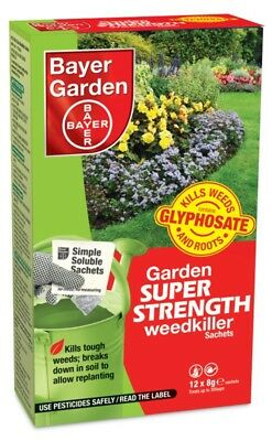 Bayer Super Strength Weedkiller Concentrate 12 Sachet