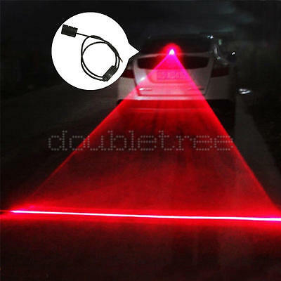 Car Vehicle Anti-Collision End Rear Tail Fog Driving Laser Caution Light Useful
