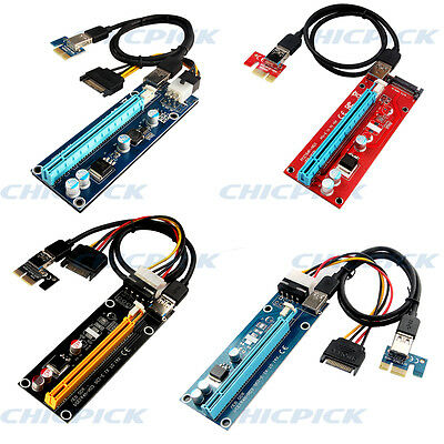 USB 3.0 PCI-E Express 1x To 16x  Riser Graphics Card Adapter Eth Mining Cable