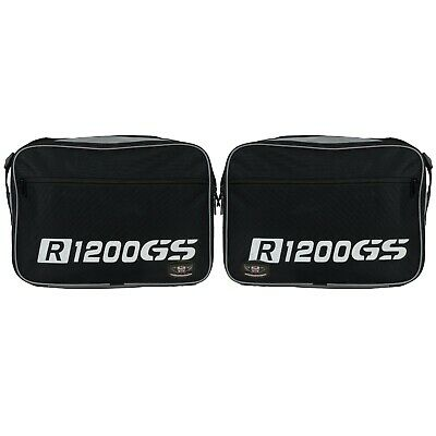 Pannier liner inner bags luggage bags for R1200GS VARIO EXPANDABLE white Print