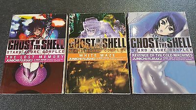 Ghost in the Shell Novels - Complete Set (English) Out of Print / MEGA RARE