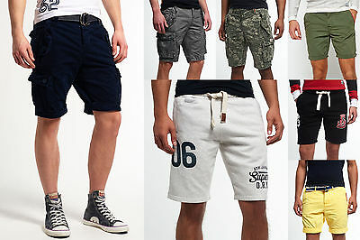 New Mens Superdry Shorts Selection - Various Styles. 1807