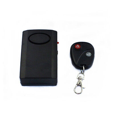 120dB Wireless Remote Control Vibration Alerter Home Security Doors Car Alarm
