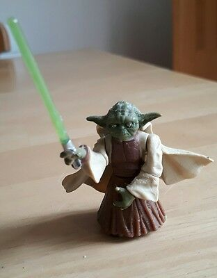 Star Wars ROTS Revenge of the Sith Yoda Action Figure 2""