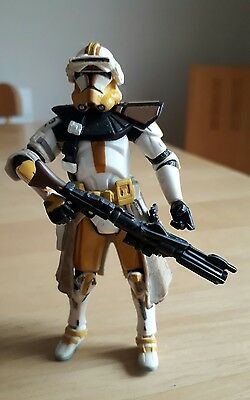 "Star Wars ROTS Revenge of the Sith Commander Cody 4"" Action Figure"