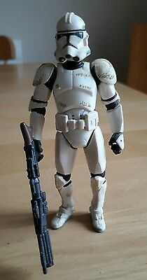 "Star Wars ROTS Revenge of the Sith Clone Trooper 4"" Action Figure"