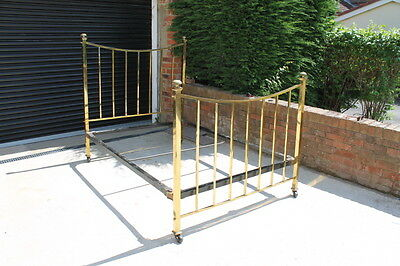 Antique Brass Bed Double