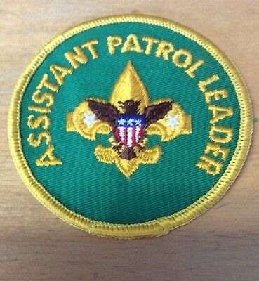 Boy Scouts Assistant Patrol Leader Patch  Never Used