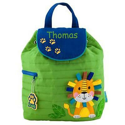 Toddler Backpack Personalized Stephen Joseph Lion Custom Name