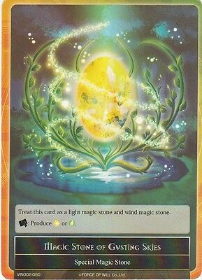FOW TCG Force of Will Magic Stone of Gusting Skies