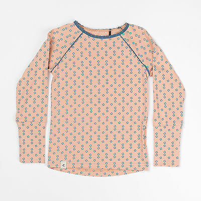 AlbaBaby - Ghita Blouse - DUSTY ROSE FLOWERS - sizes from 4 months to 4 years