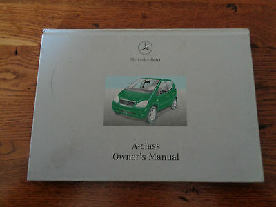 mercedes a class owners manual