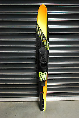 HO 69 Freeride Slalom Water Ski with FreeMaxBoot 10-15 & Adjustable RTP