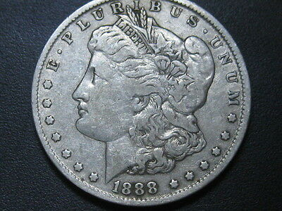1888-O U. S. Morgan Silver Dollar