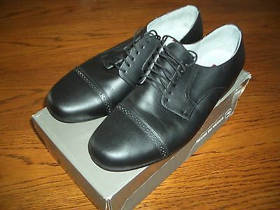 Aris Allen Men's Black Tango Dance Shoes Pre-Owned Size 11 Dancing Used Once