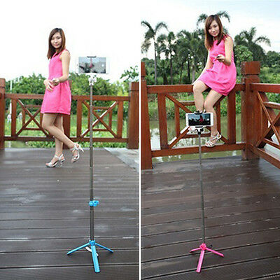 Extendable Handheld Bluetooth Selfie Stick Tripod For Cell Phone