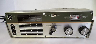 Vintage Sears Silvertone portable tape recorder. Model 5248. Original Box
