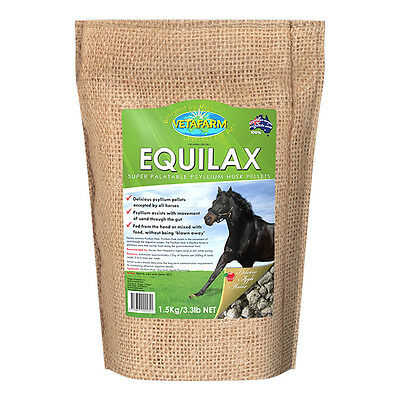 Equilax 1.5kg Psyllium Husk Digestive Health Supplement for Horses