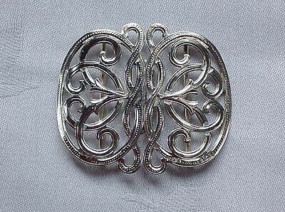 Antique Hallmarked Silver Nurses Buckle - H.& A. Birmingham 1900          (481)