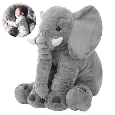 Large Elephant Pillows Cushion Baby Plush Toy Stuffed Animal Kid Child Xmas Gift