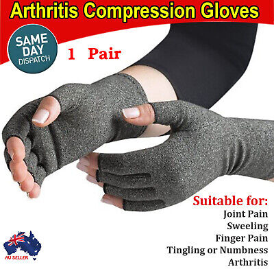 Arthritis Gloves Compression Support Hand Wrist Pain Relief Carpal Tunnel Pain