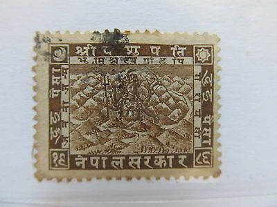 A5P9 Nepal 1929 2p used #55