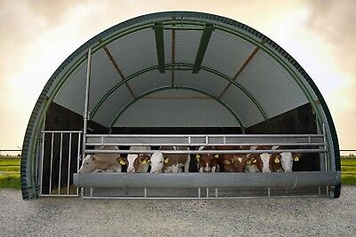 Portable Animal Shelter - Farm Building - Nissen Hut Shed - Portable building