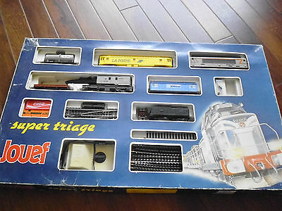Vintage Jouef  Super Triage  train set.