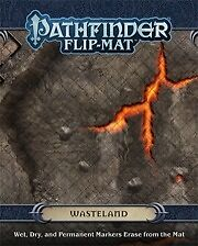 Pathfinder Role Playing Game -  Wasteland Flip-Mat