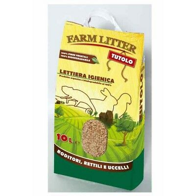 Farm litter tutolo 10lt - Lettiere roditori