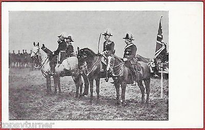 FGO Stuart. Rare Early Military Card No29. Review of the Guards. Staff Officers.