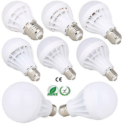 E27 LED Globe Bulb Light 3W 5W 7W 9W 12W 15W White Lamp 110V 220V Energy Saving
