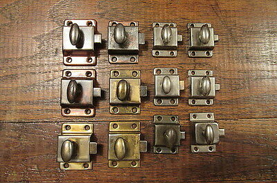 Vintage Antique Lot Of Cabinet Latches