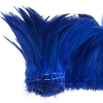 "Coque Hackle 4"" - 6"" Royal Blue"