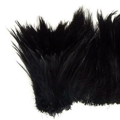 "Coque Hackle 4"" - 6"" Black"