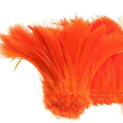 "Coque Hackle 4"" - 6"" Orange"