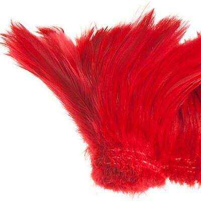 "Coque Hackle 4"" - 6"" Red"