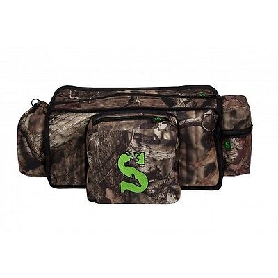 2017 Summit Deluxe Mossy Oak Camo Tree Stand Hunting Gear Storage Front Bag