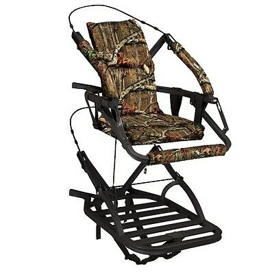 New 2017 Summit Razor SD Climbing Treestand w/ Stirrups & Harness 81117
