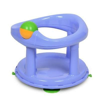 Safety 1st Swivel Bath Seat Baby Bathing Support Chair Blue Pastel